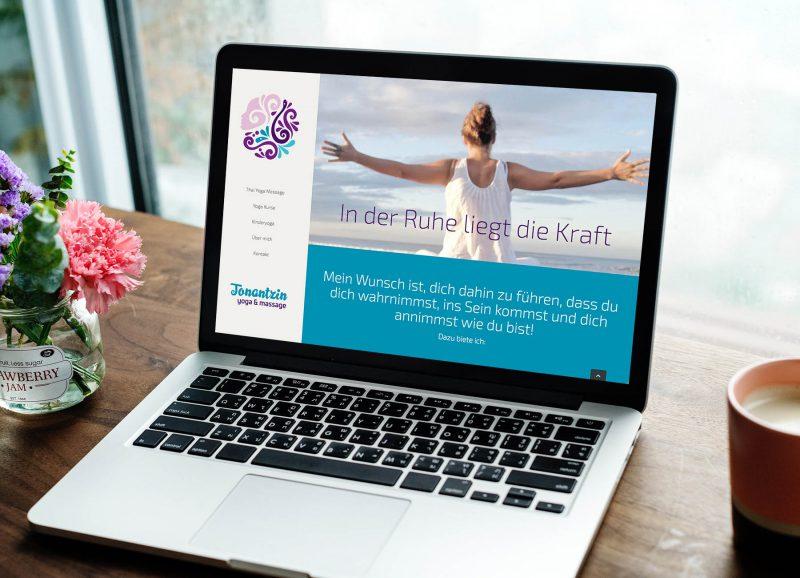Webdesign Tonatzin Yoga